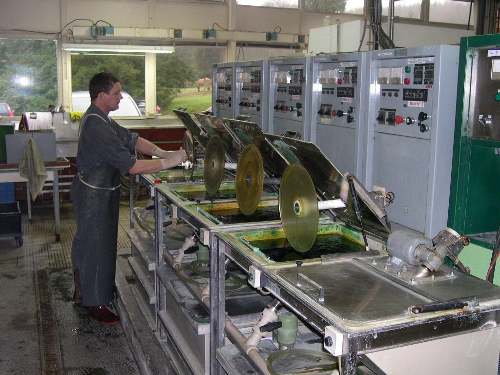 производство виниловых пластинок 1